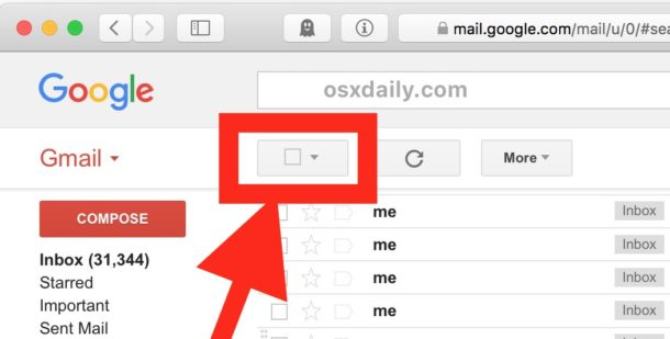 How to delete all Gmail emails