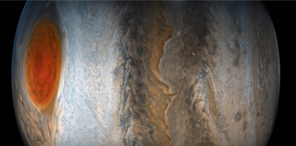 Stunning jupiter wallpaper from NASA Junocam