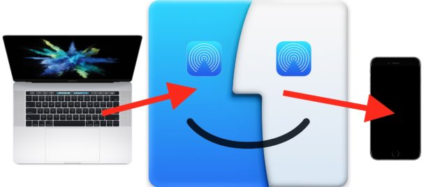 AirDrop from Mac to iOS