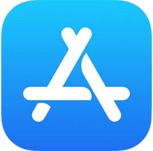App Store logo in iOS