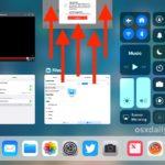 Swipe up on app to force quit on iPad via App Switcher