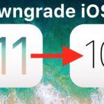 How to downgrade iOS 11 to iOS 10