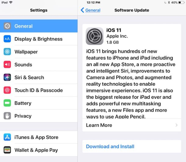 how to update software on iphone how to update amp install ios 11 on iphone or 19252