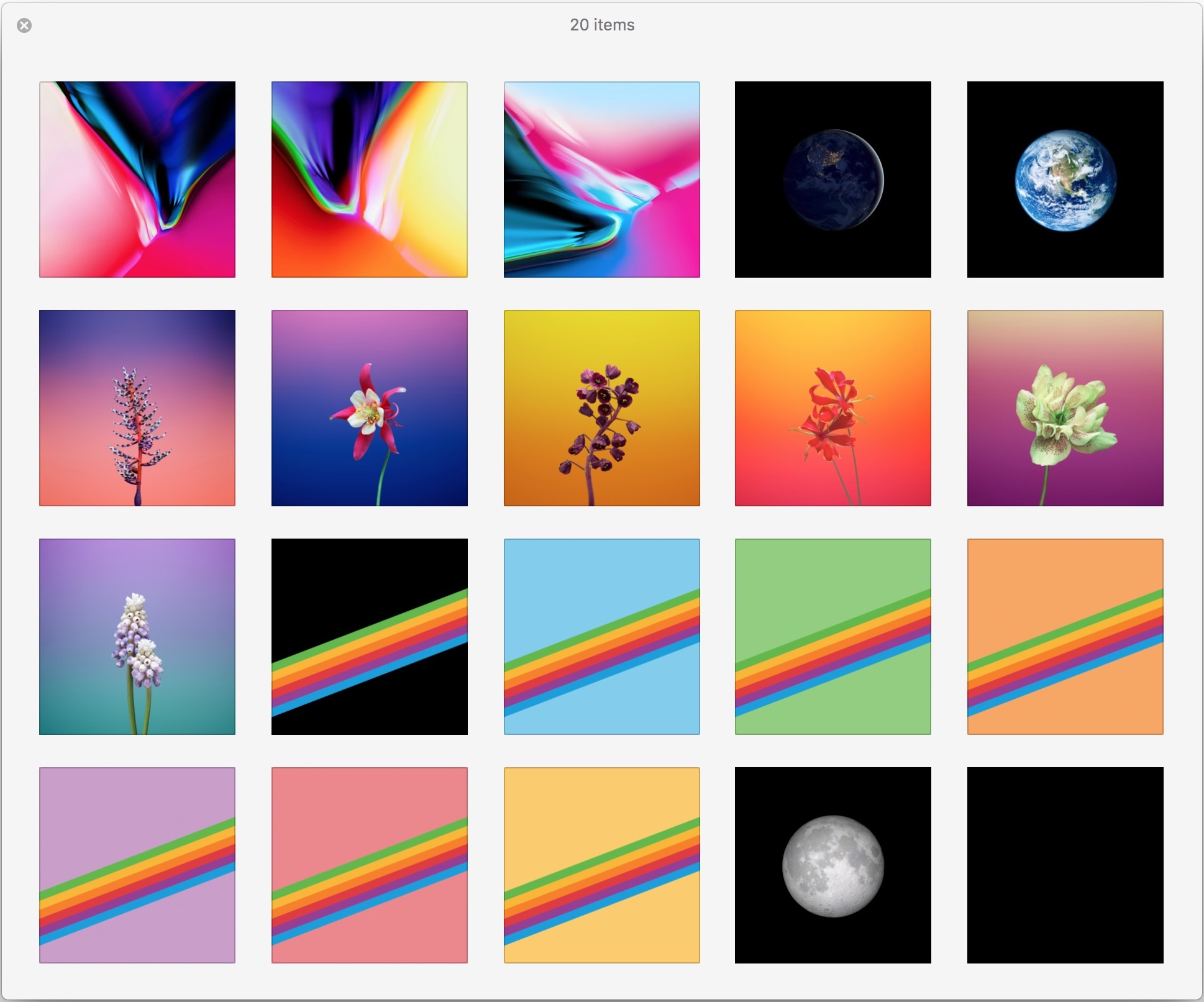 Get The 20 New Ios 11 Wallpapers Now Osxdaily