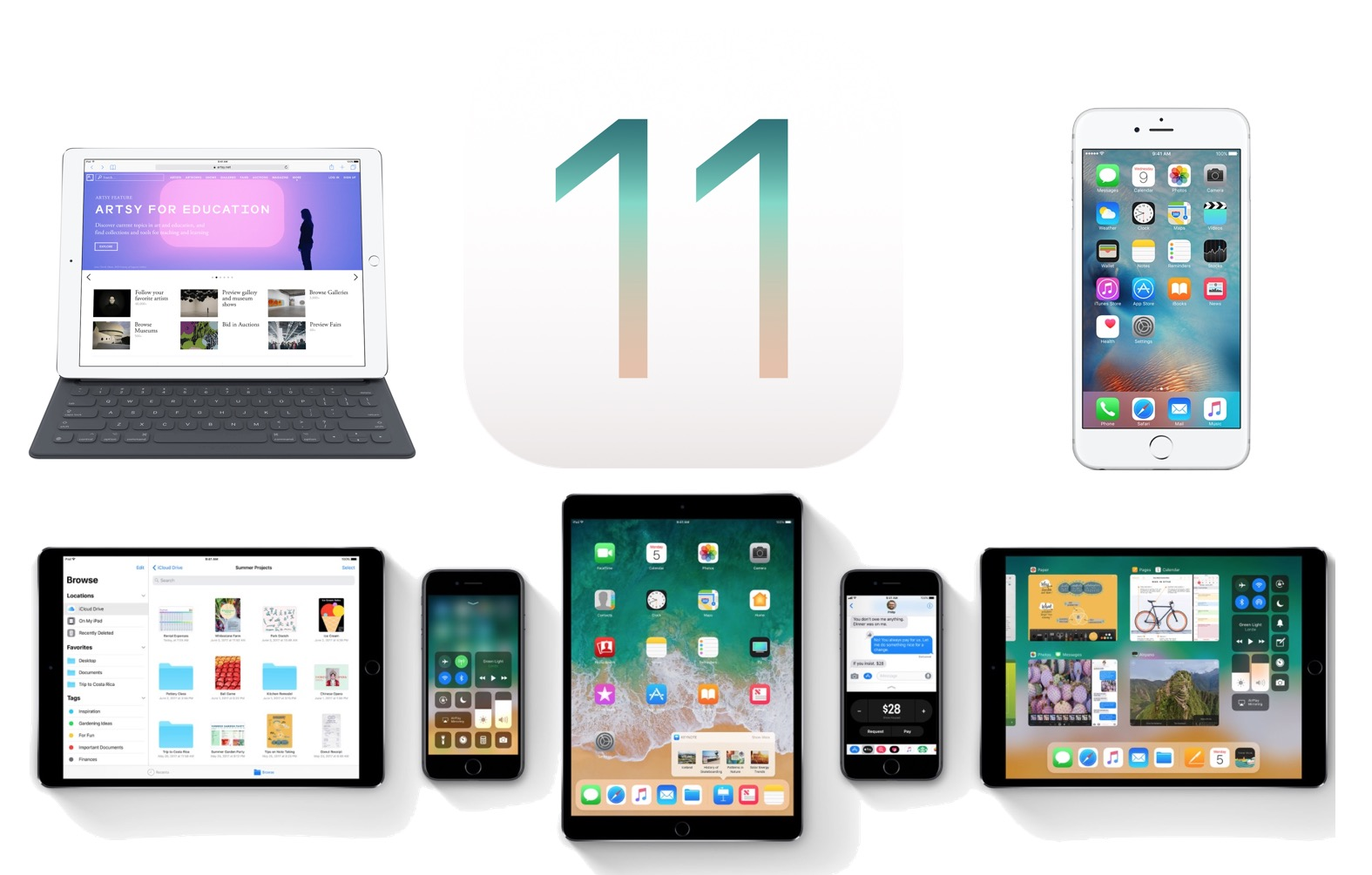How To Update Install Ios 11 On Iphone Or Ipad Osxdaily