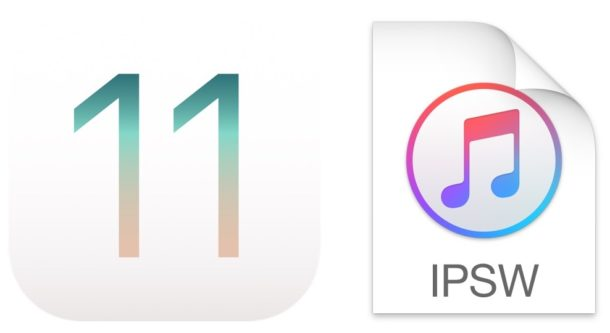Using IPSW for installing iOS 11 update manually