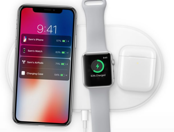 Charging wireless iPhone X