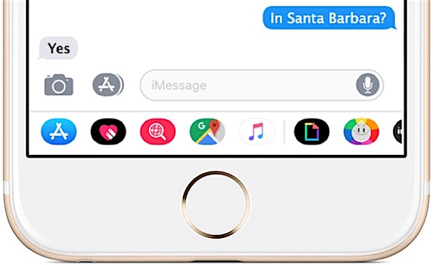 How to Hide Messages App Icons in iOS 11 on iPhone and iPad