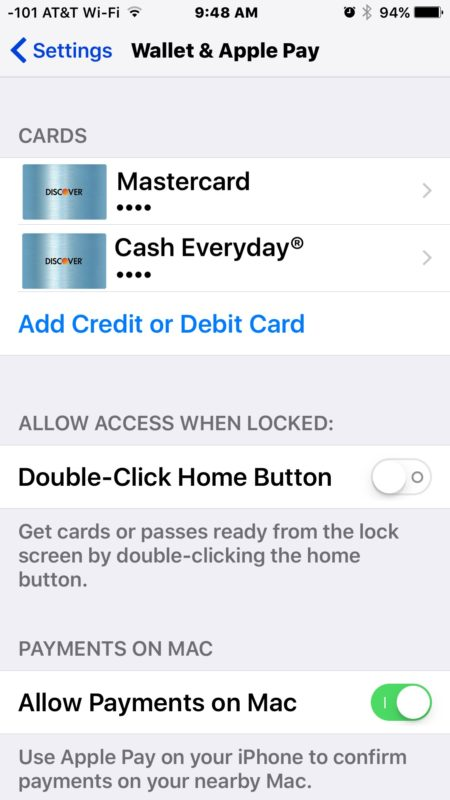 New cards added to Apple Pay