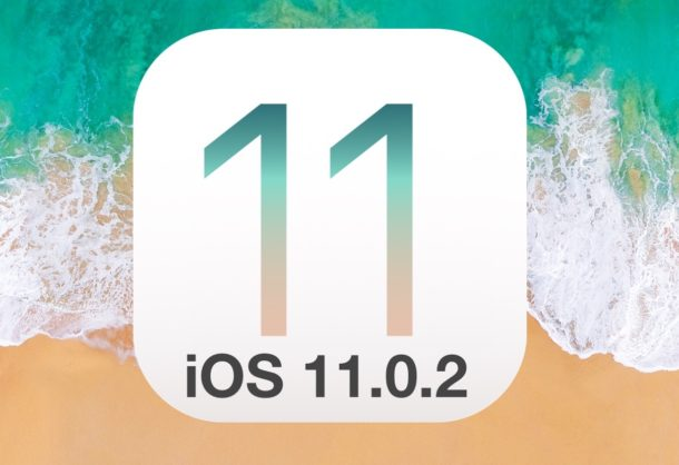 iOS 11.0.2 update is available to download