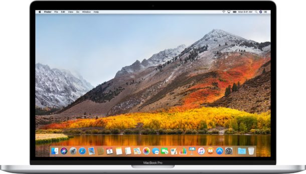 macOS High Sierra 10.13.4 download