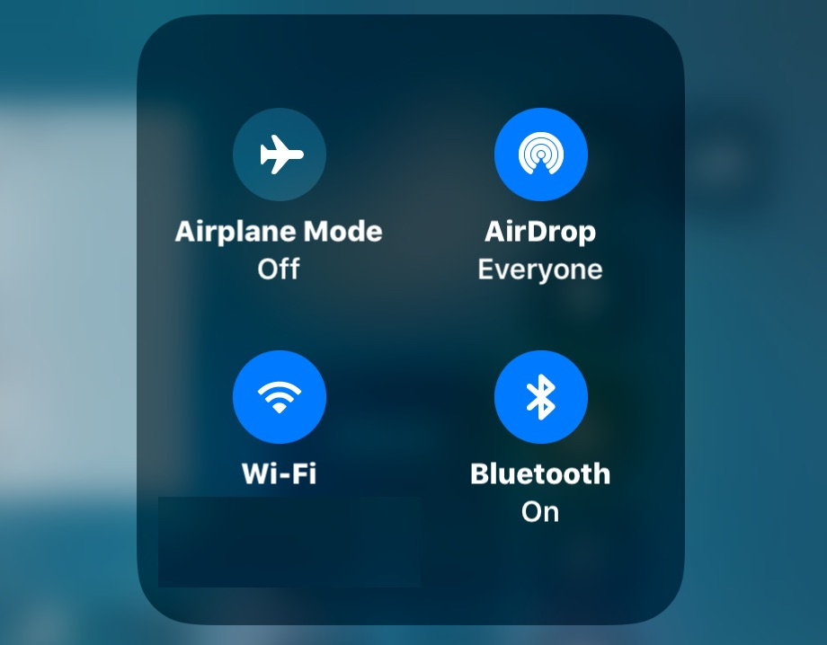 How To Actually Turn Off Wi Fi And Bluetooth In Ios 13 Ios 12 And Ios 11 Osxdaily