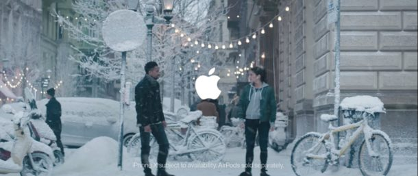 Apple Holiday 2017 commercial advertisement