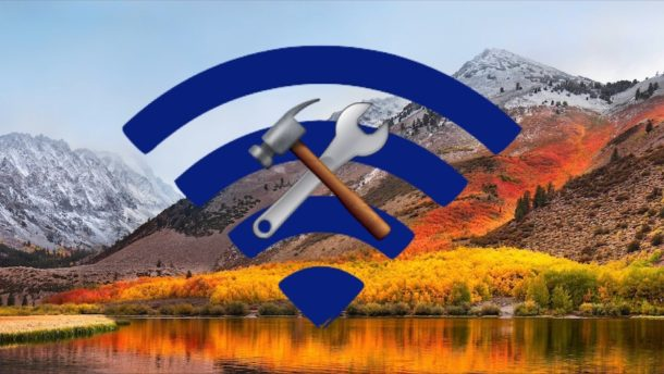 Fix Wi-Fi issues in macOS High Sierra