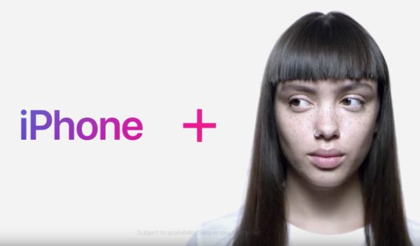 iPhone X face id commercial