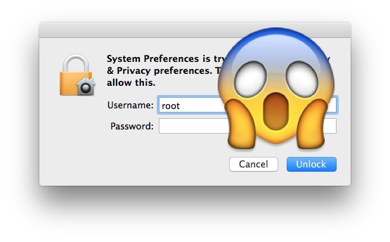 macOS High Sierra root password bug
