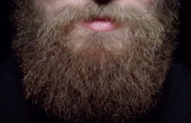 iPhone X beard unlocking Face ID magical password commercial