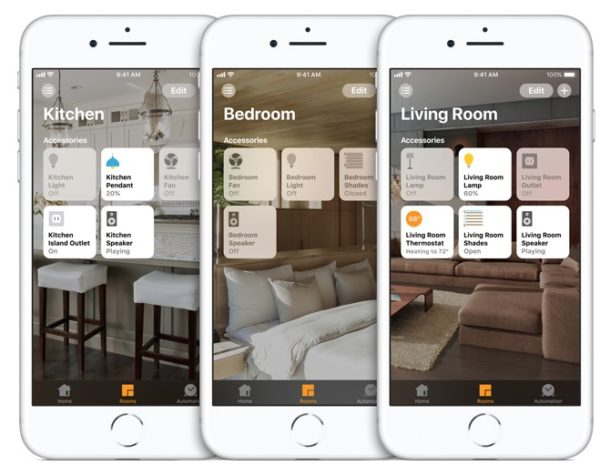 Homekit on iPhone
