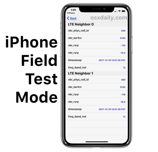 field test iphone how to use field test mode in ios 12 amp ios 11 and iphone x 10583