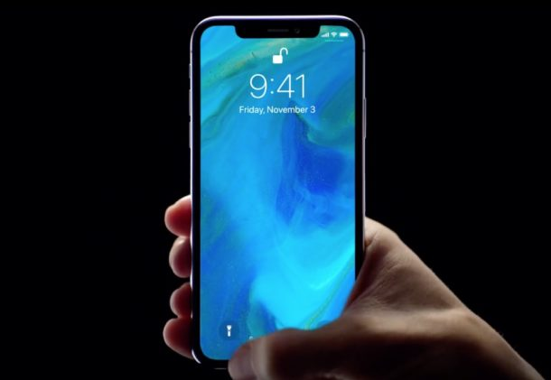 iPhone X Face ID as magical password commercials