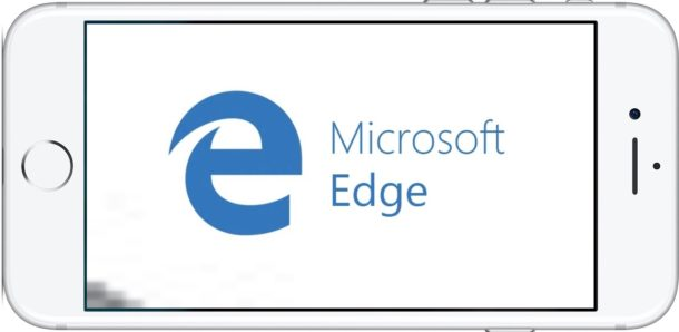 Microsoft Edge for iOS