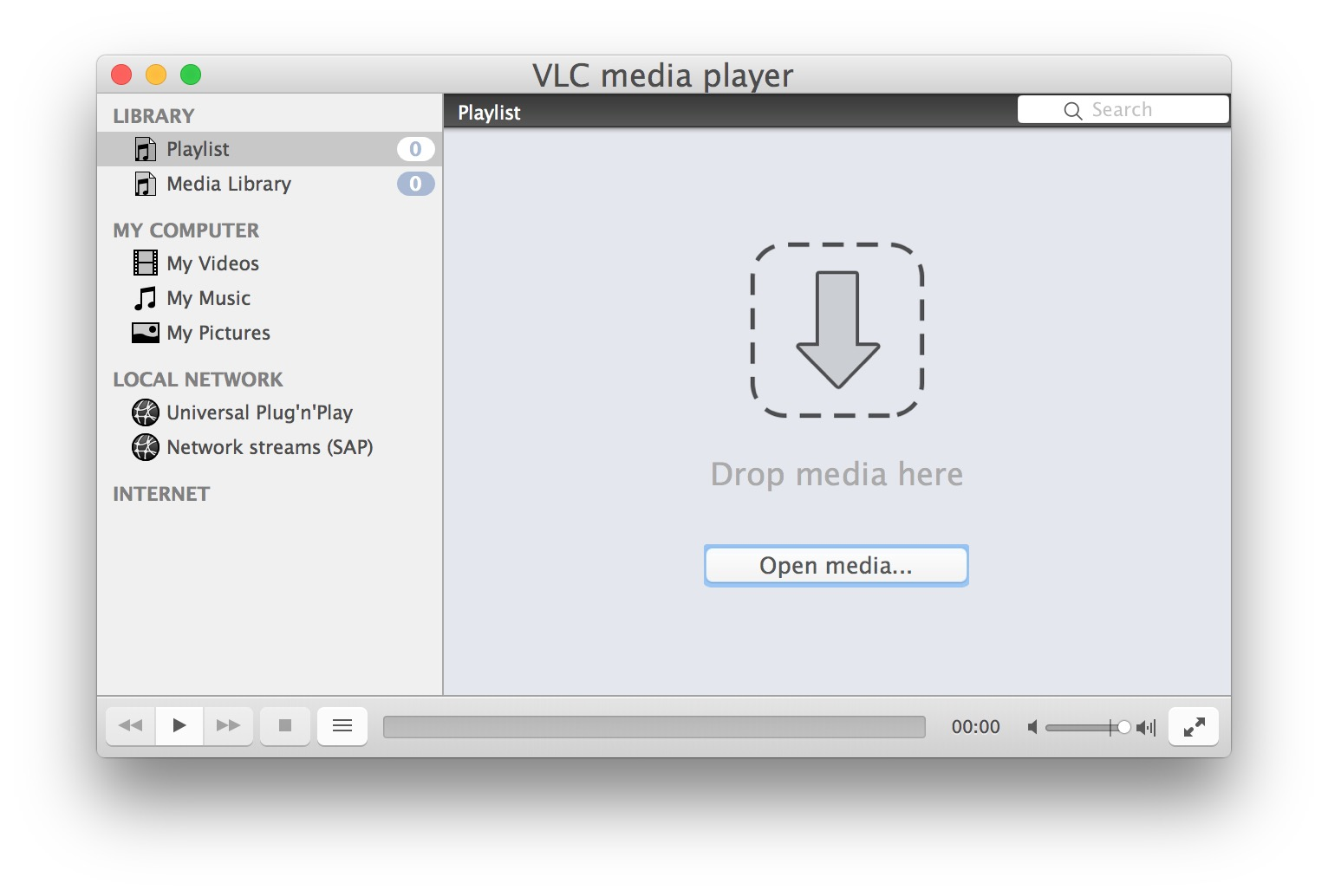 VLC can make video playlists easily