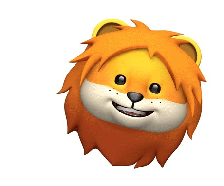 Animoji of a Lion