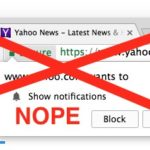 How to Block Show Notification Requests in Chrome