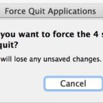 How to force quit multiple Mac apps concurrently
