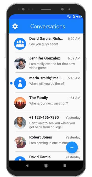 iMessage on Android through weMessage