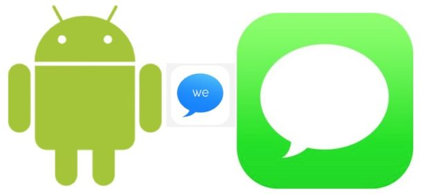 iMessage on Android with weMessage