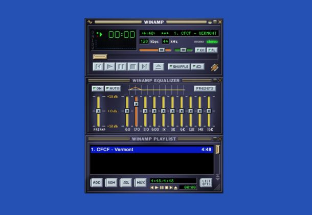 Run WinAmp in a web browser today