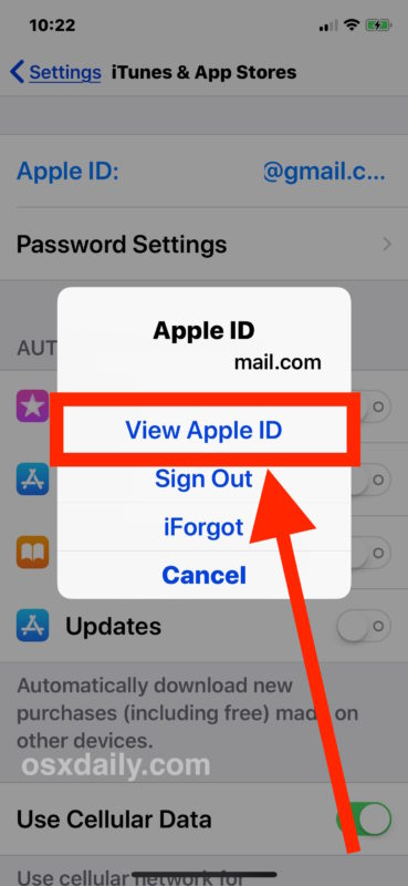 Sign in to adjust billing information to stop Verification Required message from App Store