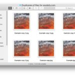 How to make copy of files or folders on a Mac