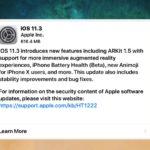 iOS 11.3 download update