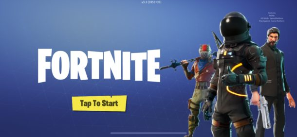 stop purchases in Fortnite for iPhone and iPad