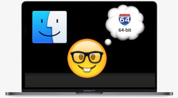 How to run MacOS in 64-bit only mode