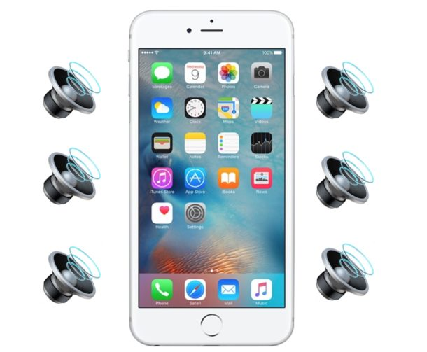How to use iPhone speaker phone