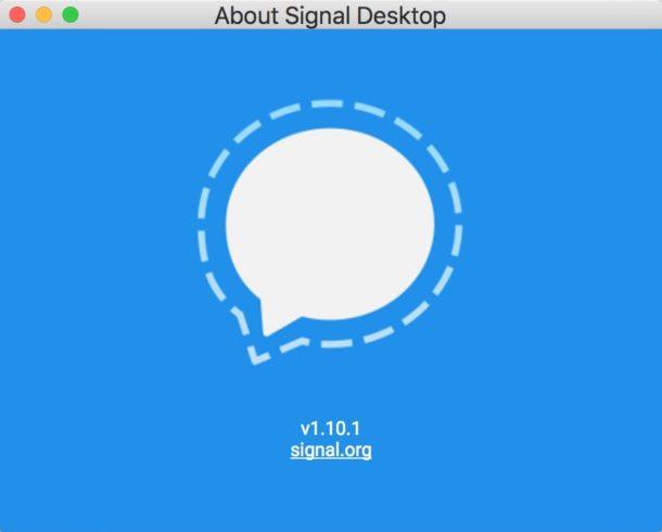 Signal on Mac