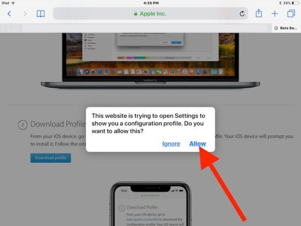 How to install iOS 12 public beta