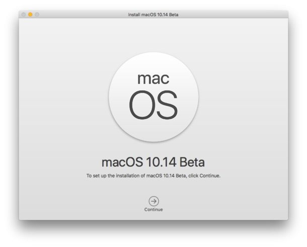 How to Make a MacOS Mojave Beta Bootable Install USB Drive