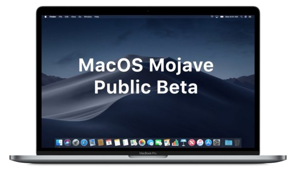 How to install MacOS Mojave Public Beta