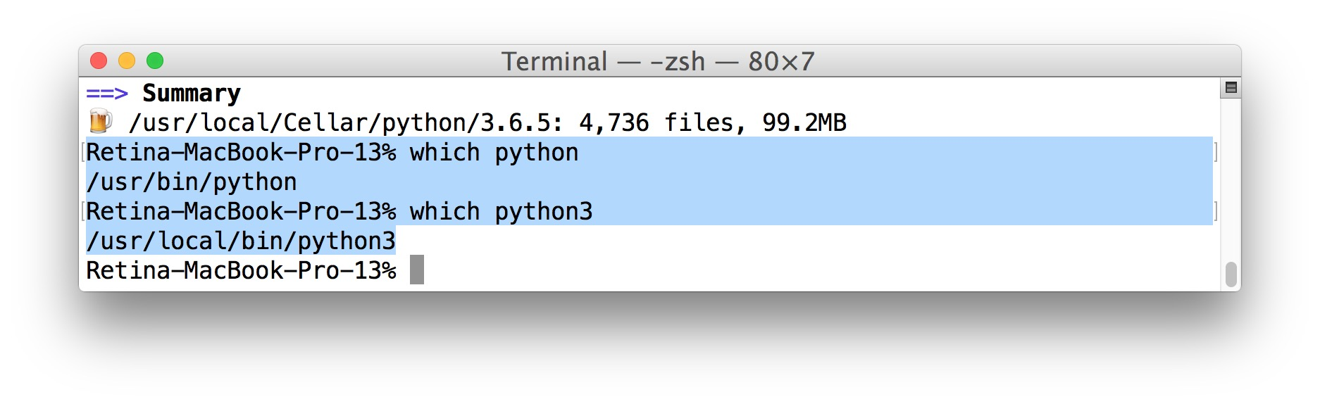 How To Install Updated Python 36x On Mac X 10 3 Way Switch Wiring Diagram Which Installed Where