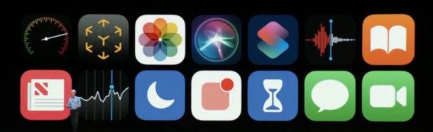 iOS 12 icons