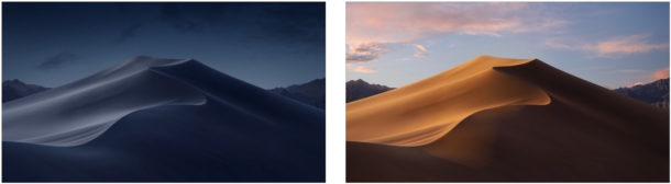 macOS Mojave wallpapers default