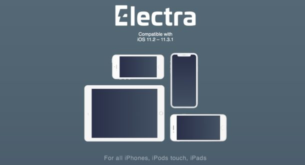 Electra Jailbreak for iOS 11.2 - iOS 11.3.1