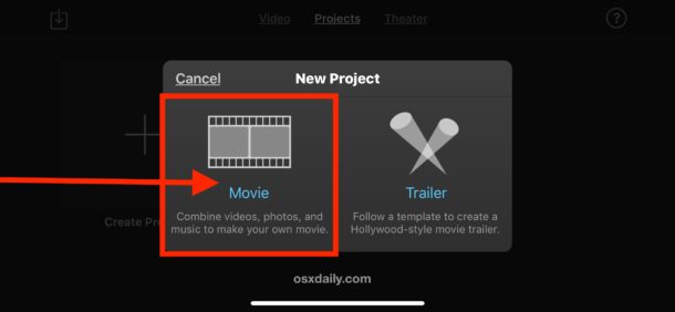 How to Crop or Zoom a Video on iMovie for iOS