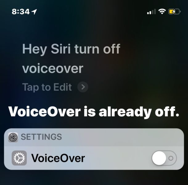 How to disable VoiceOver from lock screen of iPhone or iPad