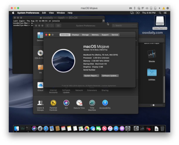 How to run macOS Mojave in a virtual machine