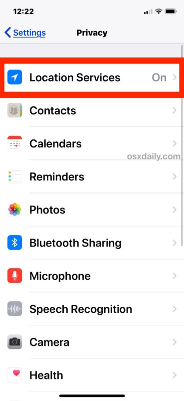 How to disable Location Services on iPhone or iPad